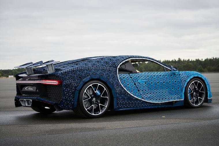 LEGO Builds Full-Sized, Drive-able Bugatti Supercar To Prove New Brand Slogan