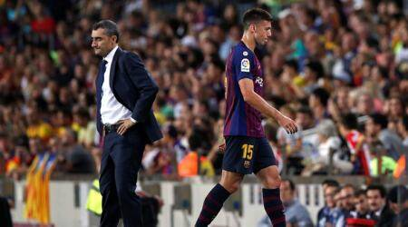 Clement Lenglet red card unfair, says Girona's Pere Pons after Barcadraw