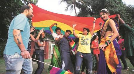 Section 377, Section 377 struck down, Supreme Court decriminalises homosexuality, homosexuality decriminalised, section 377 verdict, LGBT, LGBTQI, LGBTQI celebration in Pune, Pune news, Indian Express