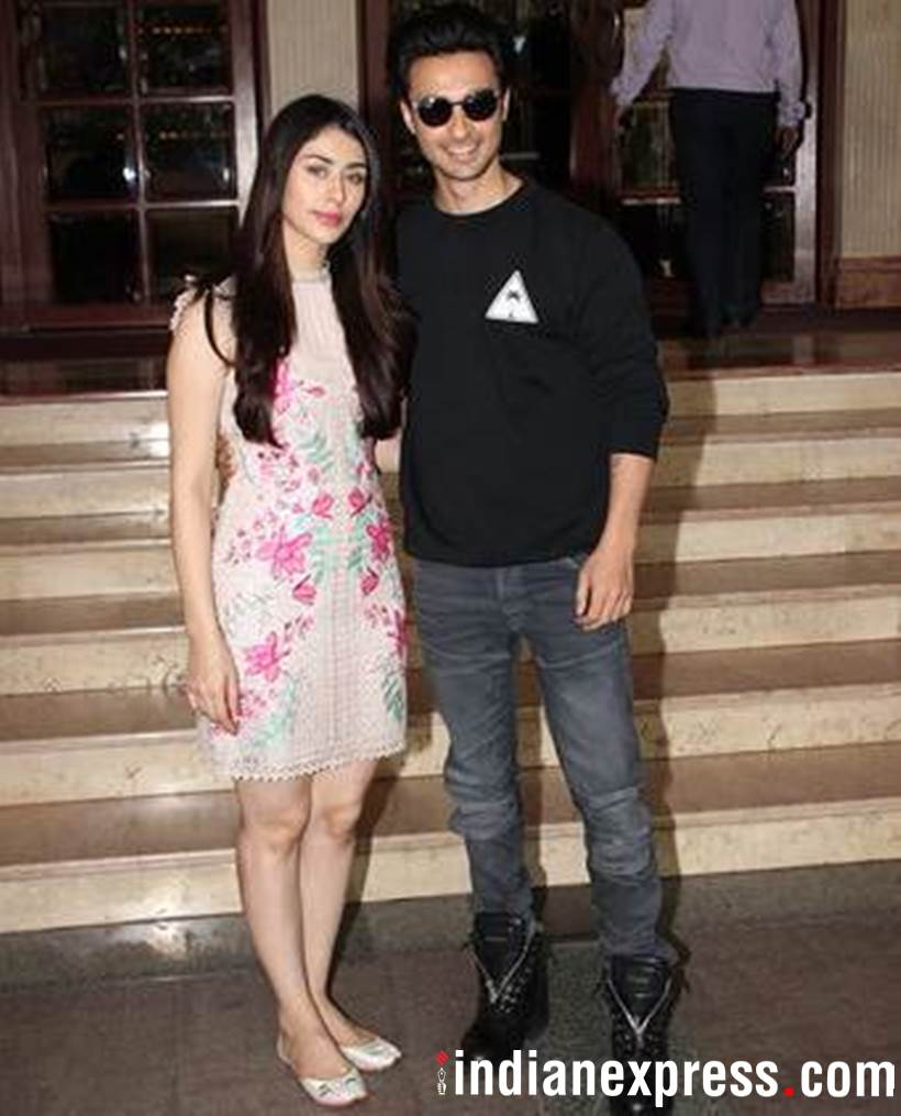 Loveratri actors Aayush Sharma and Warina Hussain