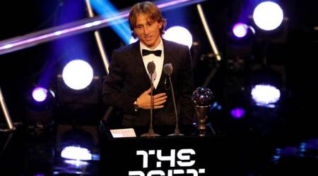 Luka Modric beats Cristiano Ronaldo, Mohamed Salah to FIFA The Best award