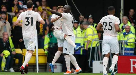 Manchester United set up 2-1 win over Watford