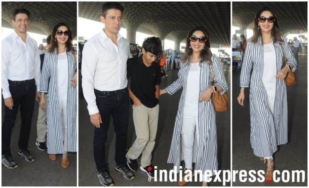 Madhuri Dixit family