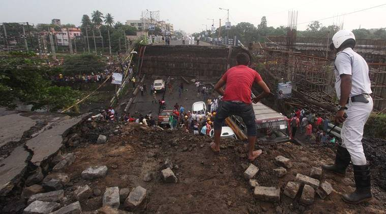 Majerhat bridge collapse: Rescue in full swing, collapse site bustles with activity