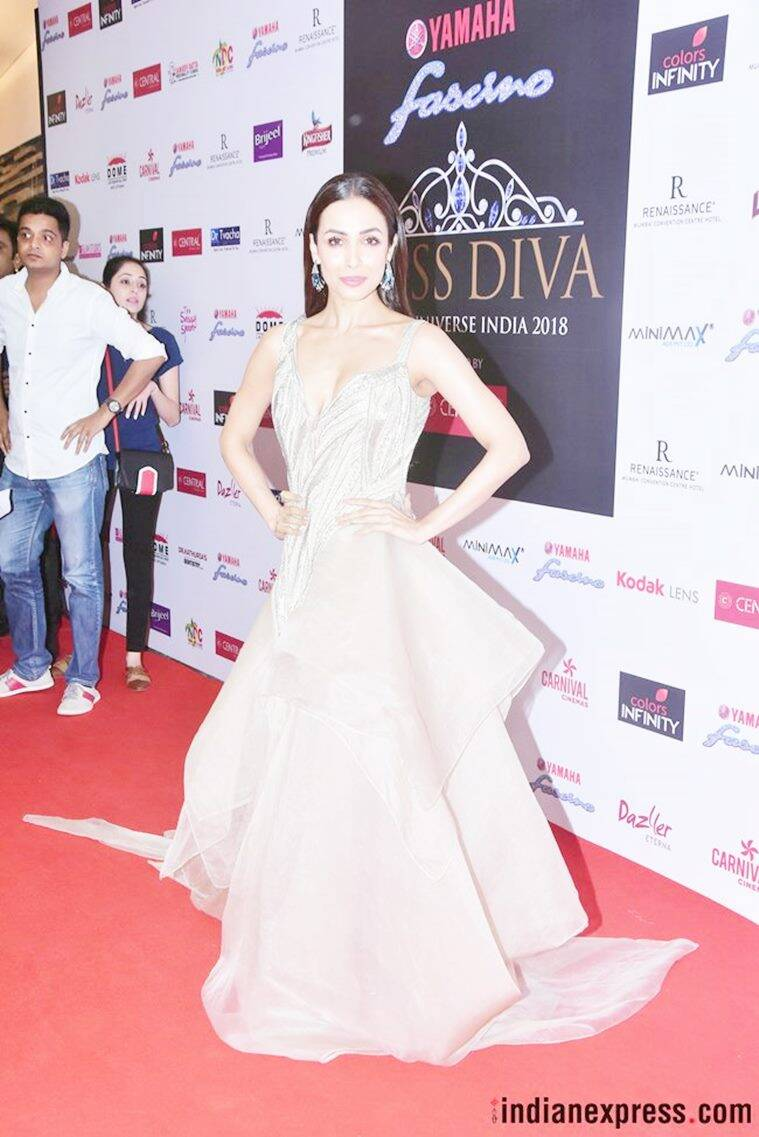 Miss Diva 2018, Miss Diva 2018 best and worst dressed, Malaika Arora, Sophie Choudry, Shilpa Shetty, Neha Dhupia, Sushant Singh Rajput, Lara Dutta, celeb fashion, bollywood fashion, indian express, indian express news