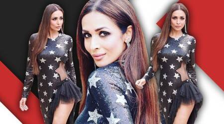 Malaika Arora in this star-studded sequined dress is a disappointment