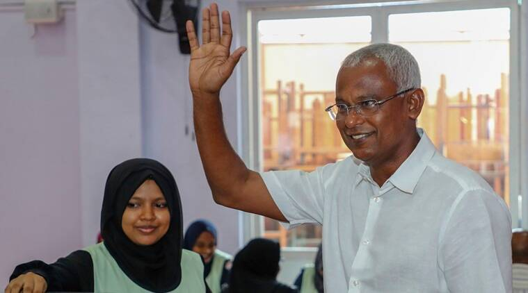 Maldives Opposition candidate Ibrahim Solih wins presidential poll, India calls it 'triumph of democratic forces'