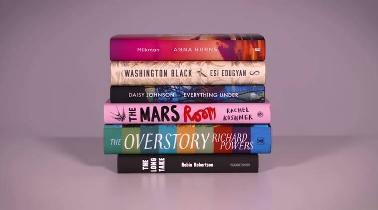 Anna Burns, Esi Edugyan, Daisy Johnson, Rachel Kushner, Richard Powers, Robin Robertson, Milkman, Washington Black, Everything Under, The Mars Room, The Overstory, The long take, man booker prize nominations, man booker prize, indian express, indian express news