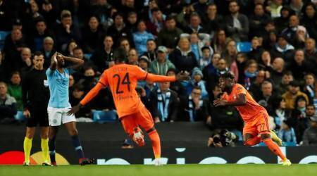 Manchester City humbled in 2-1 loss to Lyon in UEFA Champions League