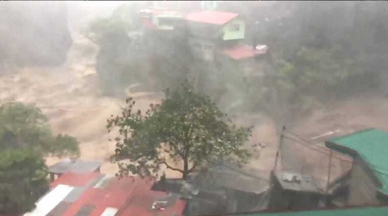 Typhoon Mangkhut aims at south China after killing 12 in Philippines