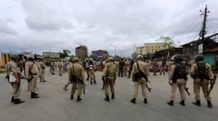 Manipur bandh partially hit normal life
