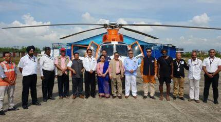 Manipur launches maiden helicopterservice