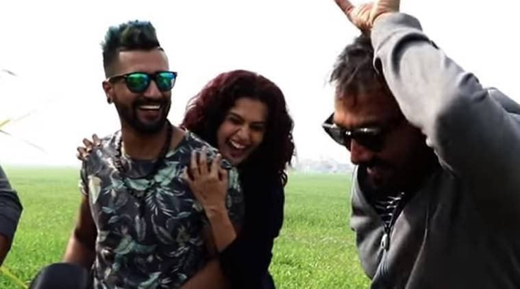vicky kaushal and taapsee pannu in mannmarziyaan