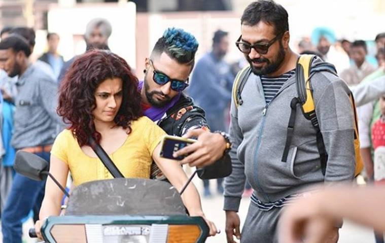 taapsee vicky and anurag kashyap in manmarzyaan