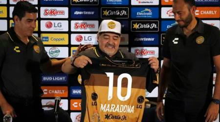 Diego Maradona says his off-pitch issues are in thepast