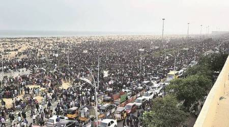 Madras HC says no to protests on Marina Beach