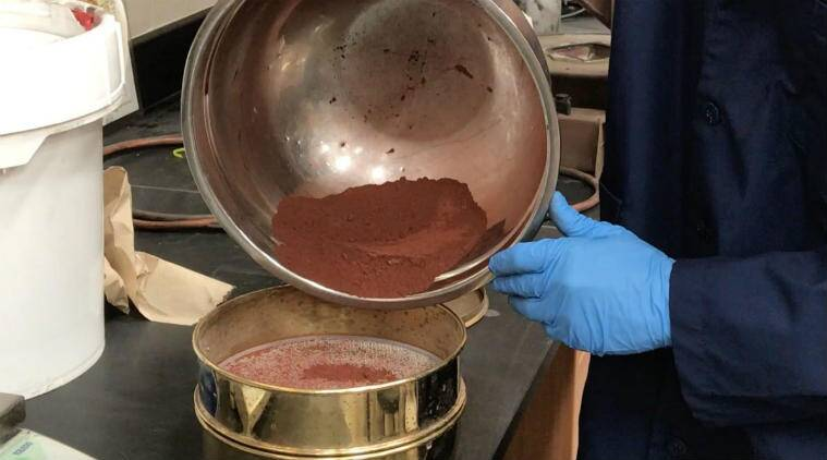 American scientists have recreated a sample of Martian soil