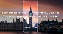 Huawei Mate 20, the first Kirin 980 device, to be unveiled on October 16