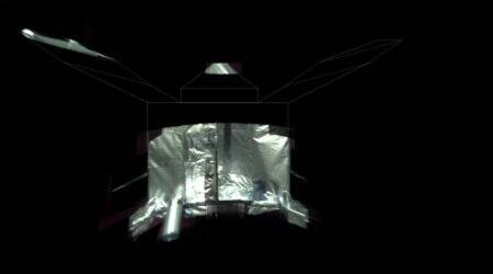 NASA's Mars probe beams back selfie to mark four years inorbit