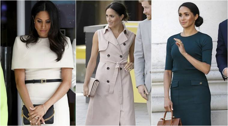 Meghan Markle Pulled a Total Kate Middleton in an Uncharacteristically Blue Outfit