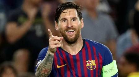 Lionel Messi starts to deliver on Barcelona Champions League promise