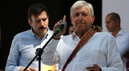 Mexican president-elect introduces civilian head of security