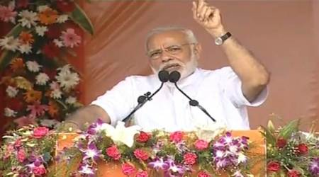 In Odisha, Narendra Modi hints at 2019 win: 'Will return to inaugurate project three years later'