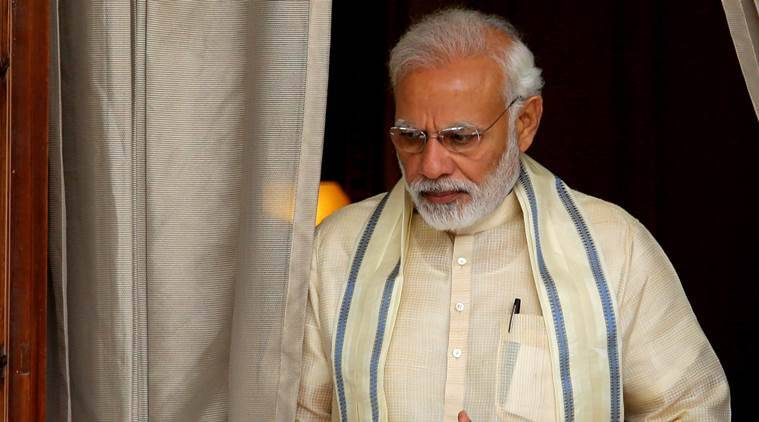 Woman 'stopped' from meeting PM Modi sets bus on fire