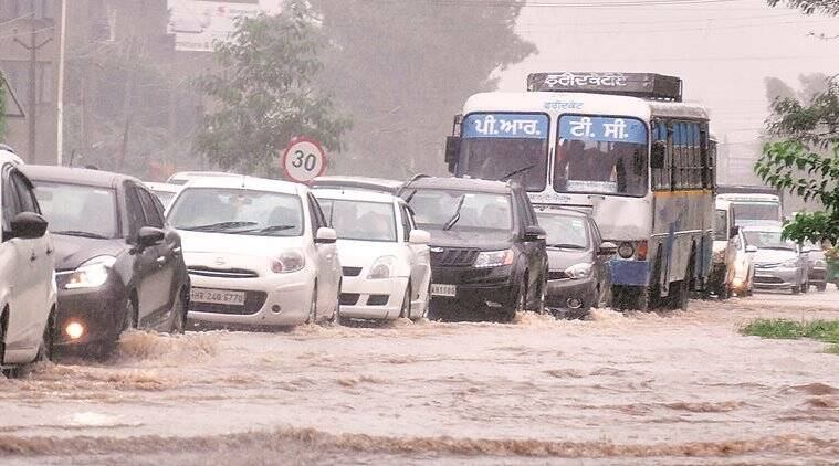 Mohali on alert after heavy rain lashes region, all educational institutions to stay shut today