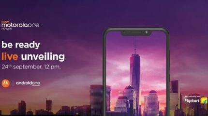 Motorola One Power launch in India today: Livestream timing, expected price, specifications
