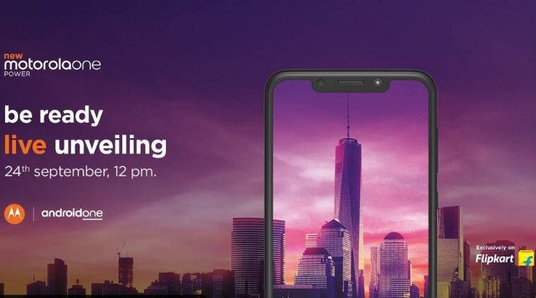 Motorola One Power launch in India today