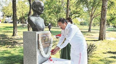 Venkaiah Naidu invokes Nehru in Serbian address