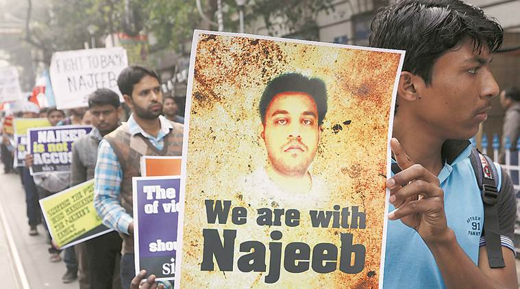 JNU student Najeeb Ahmed mysteriously disappeared in October in 2016.