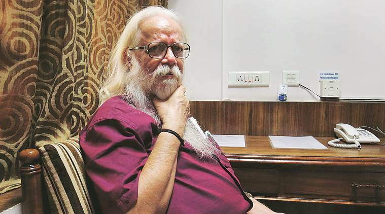 ISRO spy case, Nambi Narayanan, nambi narayanan espionage case, Karala police, Intelligence Bureau, Ready to Fire, Arun Ram, Indian Express