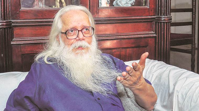 Nambi Narayanan, ISRO scientist, ISRO programme confidential documents, illegal transfer, court order, compensation, Kerala chief minister, Pinarayi Vijayan, Kerala government, Indian Express news