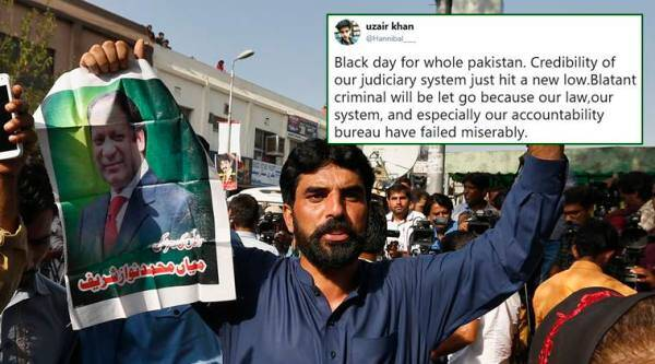 Nawaz Sharif, Nawaz Sharif sentence suspended, Nawaz Sharif freed, maryam nawaz, nawaz shariff panama papers, nawaz shariff corruption charges, world news, pakistan news