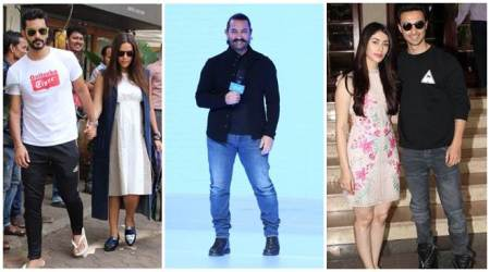 Neha Dhupia, Aamir Khan, Aayush Sharma