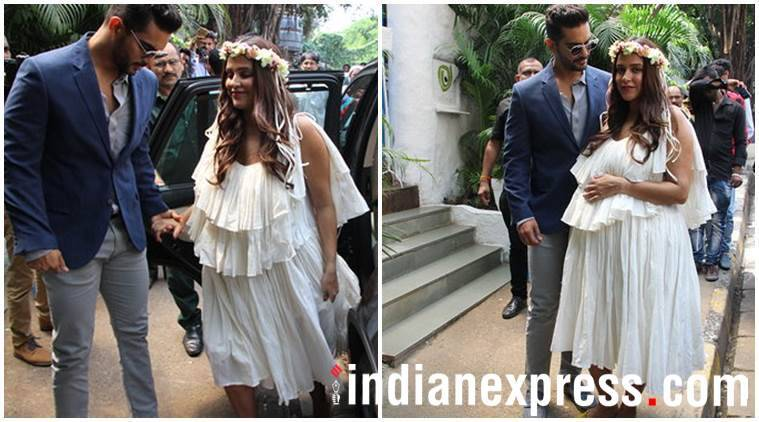 Neha Dhupia baby shower photos Angad Bedi