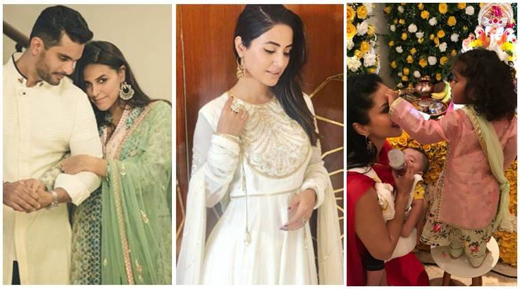 Neha Dhupia, Hina Khan, sunny leone social media photos