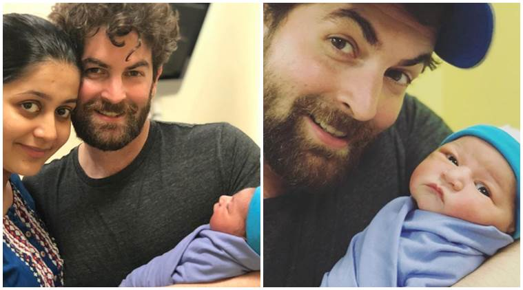 Neil Nitin Mukesh daughter Nurvi first photos