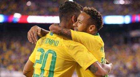 Neymar, Roberto Firmino lead Brazil over US 2-0 in exhibition