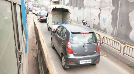For violating rule on BRTS lane: In a first, car drivers to pay Rs 1,000 asfine