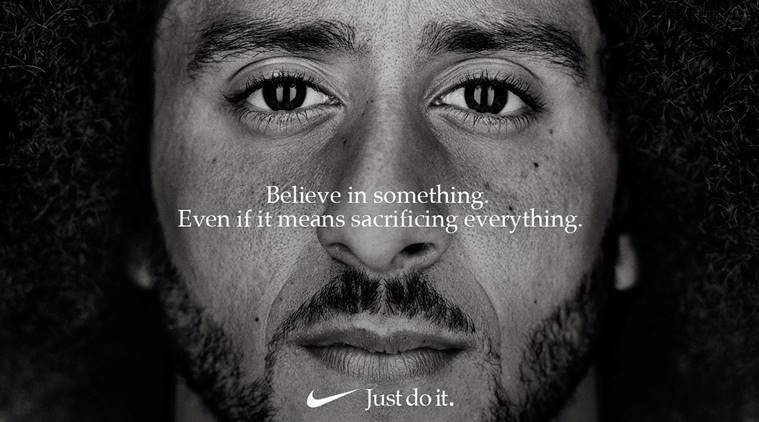 after controversial Colin Kaepernick ad