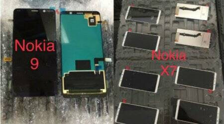 Nokia 9, Nokia X7 leaked display assembly images show devices will feature notch-less display