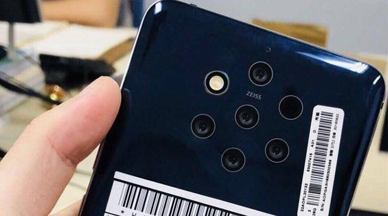 Nokia 9, Nokia 9 leaked image, Nokia 9 five cameras, Nokia 9 images, Nokia 9 specifications, Nokia 9 features, Nokia 9 leaked