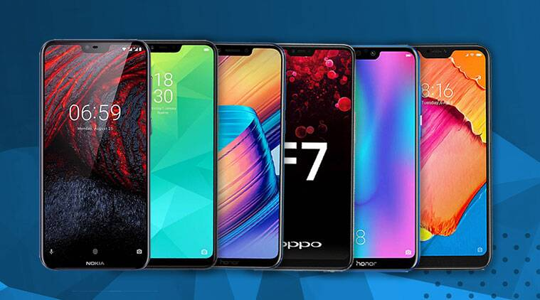 Smartphones with notch display, Honor Play, phones under Rs 2000 with notch, Realme 2, best Android phones with notch, Redmi 6 Pro, notched display smartphones, Honor 9N, best notched phones in India, Nokia 6.1 Plus, Vivo V9