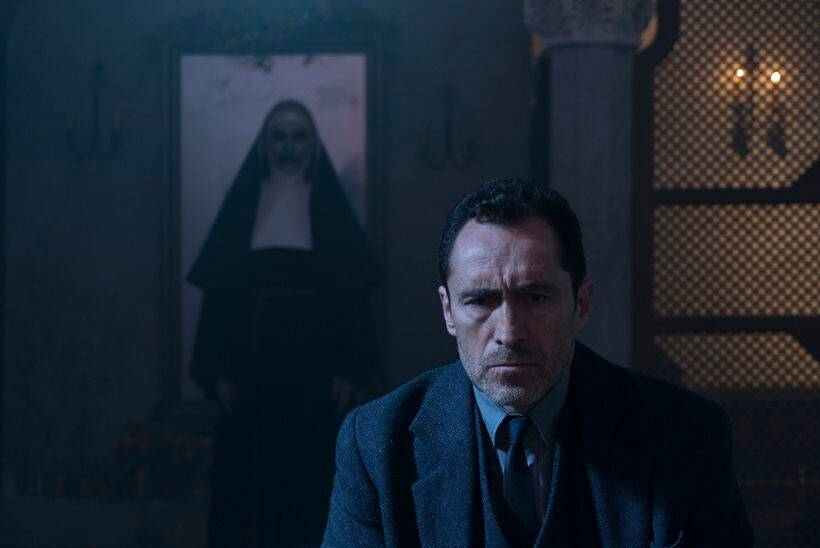 demian bichir as father burke in the nun