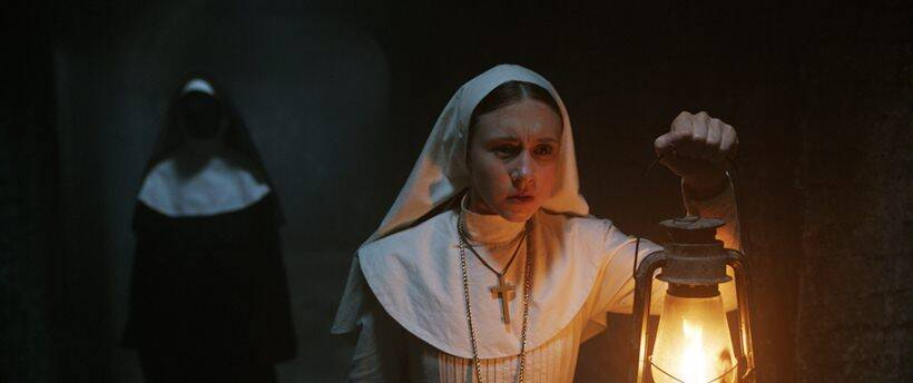 taissa farmiga in the nun