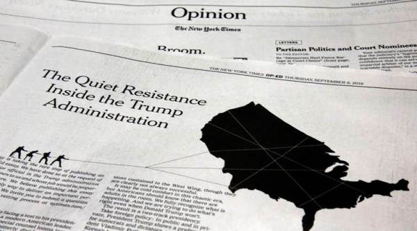Anonymous NYT Op-Ed: All you need to know