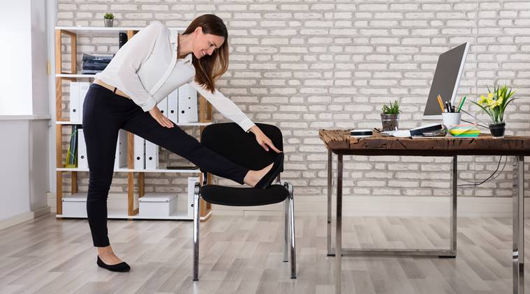 Exercise at work, how to stay fit, office exercises, exercise in office, increase concentration at work, increase concentration in office, indian express, indian express news